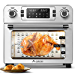 """Aobosi Toaster Oven Air Fryer Oven Toaster Convection Oven Digital Countertop Rotisserie Oven Pizza Oven 10-in-1 Multi-Function Toast/Roast/Broil/Bake/Dehydrate Large 24Qt Recipe 1700W 16x13x16"""""""