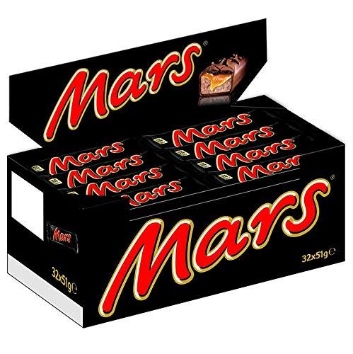 Mars - Maxi Pack - 32 barres de 51g
