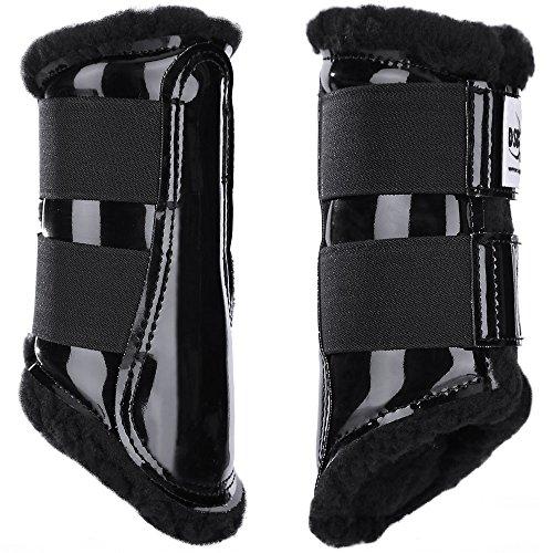 DSB Dressage Sport Boot Black Patent