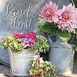 Land & Lust 2020: Broschürenkalender mit Ferienterminen. Landleben und Gärten. 30 x 30 cm