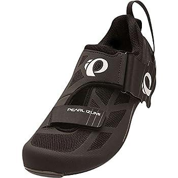 Pearl iZUMi Men s Tri Fly Select V6 Cycling Shoe Black/Shadow Grey 41 EU/7.7 D US