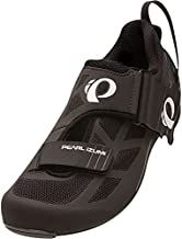 Pearl iZUMi Men's Tri Fly Select V6 Cycling Shoe, Black/Shadow Grey, 39 EU/6.1 D US