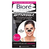 Bioré 6 tiefenreinigende Clear Up Strips – con carbone attivo