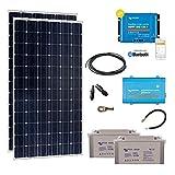 Kit Solar autónomo 600W–230V Monocristalino