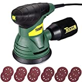 Orbital Sander, TECCPO 350W 14000OPM Random Orbit Sanders, 12 Pcs Sand Papers, High