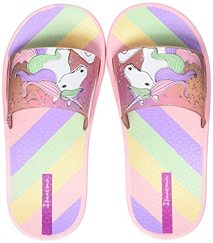 Ipanema Urban Slide Kids, Chanclas, Rosa, 33 EU