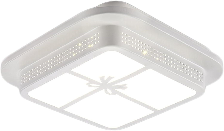 FJH Exquisite Houisehold Schlafzimmer-Balkon-Gang-Deckenleuchte-kreative hohle Schmiedeeisen-LED, die warme und reizende dekorative Lichter beleuchtet