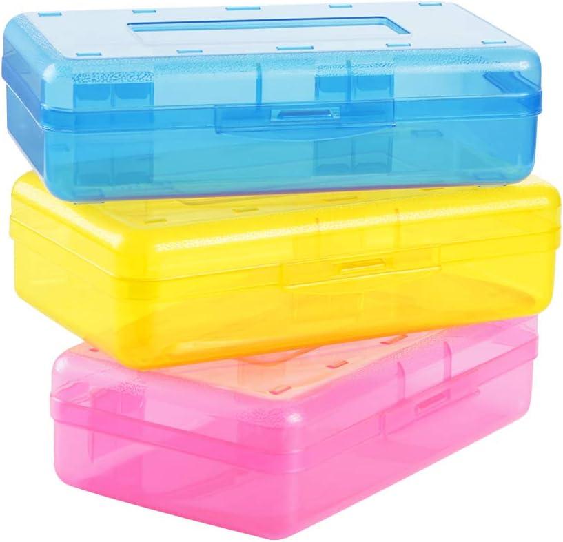 Large Capacity Pencil Box Purpose Bright shipfree Purchase Color Multi
