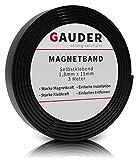 GAUDER Bande Magnétique Autocollante | Ruban Magnétique Adhésif | Rouleau Aimanté Puissant