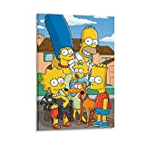 FGHU Movie Poster The Simpsons Poster Decorative Painting