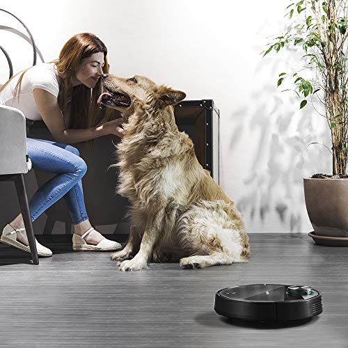 Cecotec Aspirateur Robot Conga Série 3490 Elite. 2300 Pa, Gestion et Édition des Pièces, App Jusqu'à 5 Cartes, Brosse pour Les Poils d'Animaux, Alexa & Google Home.