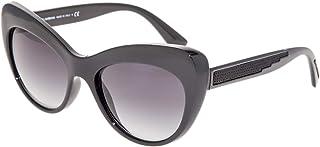 364ef39b9eb9 Dolce & Gabbana DG6110 Sunglasses Black w/Grey Gradient Lens 52mm 5018G DG  6110