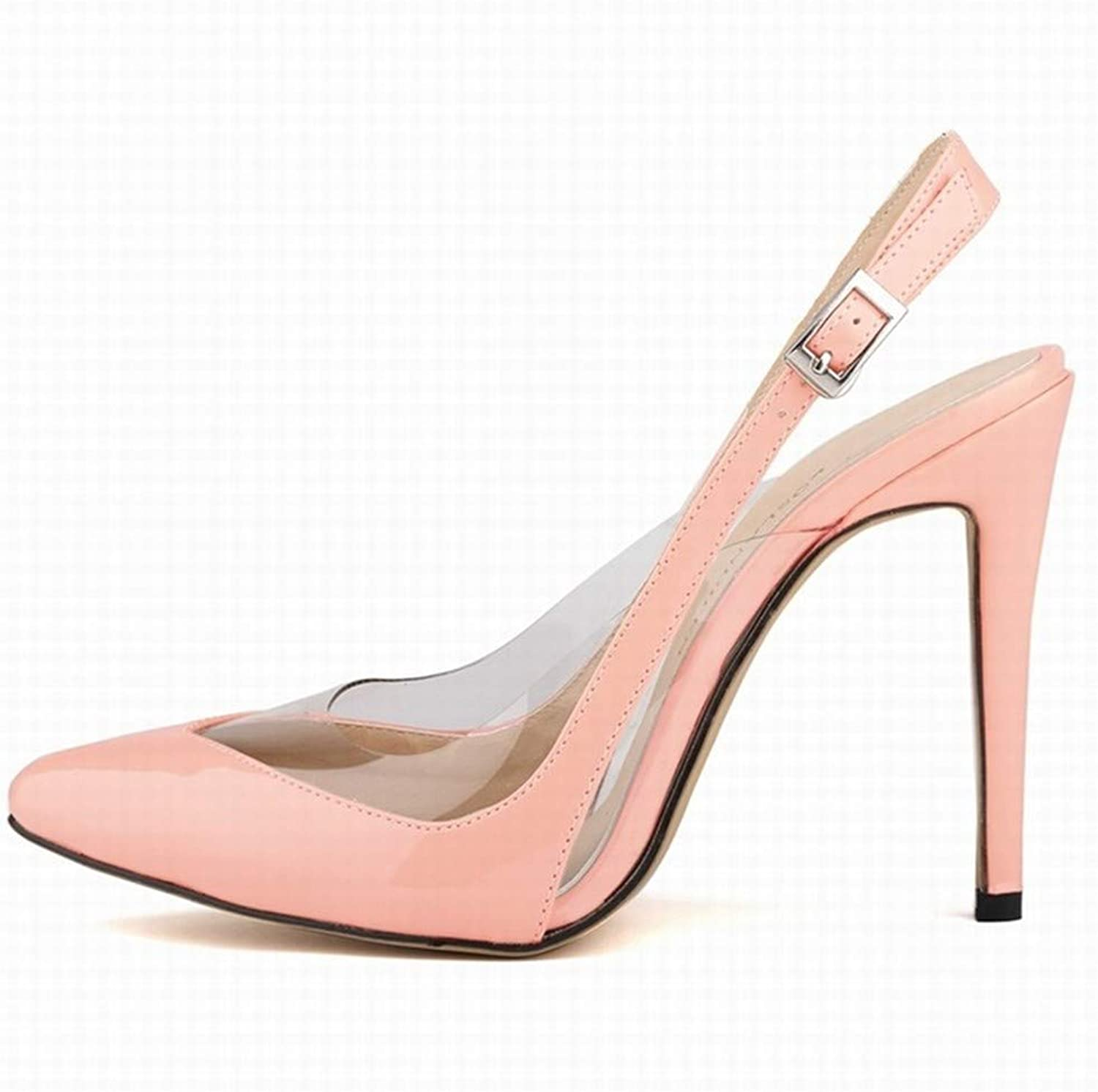 Women's Pointed Toe Slingback Ankle Tie High Heel Slip On Sexy Party Wedding