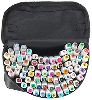 168 Colors Design Marker Tip Pen White