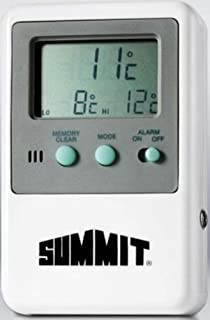 SUMMIT BY WHITE MOUNTAIN Temperature Alarm with Digital Display