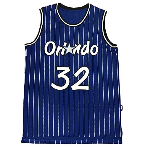KKSY Camisetas de la NBA para Hombre Shaquille O'Neal # 32 Orlando Magic 1994-95 Camisetas de Baloncesto de la NBA,B,XL
