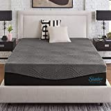 Slumber Solutions Active 14-inch Charcoal Memory Foam Mattress Queen