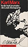 Le 18 de brumaire de louis bonaparte - La Dispute - 01/01/1984