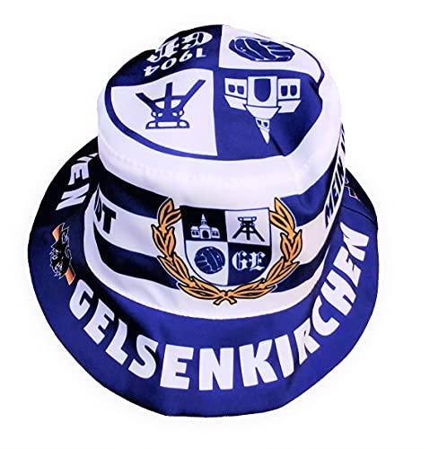 Gelsenkirchen Fan-Hut, Sonnenhut, Fischerhut, Anglerhut, Fan-Hut, Military Hut Schalker Hut