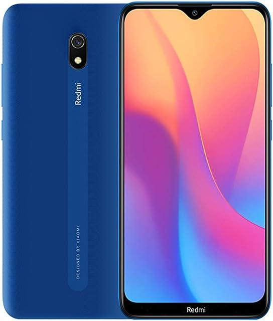 Xiaomi Redmi 8A Smartphone 2GB 32GB Mobilephone 622Pantalla Snapdargon 439 Octa Core Teléfono Móvil 5000mAh 12MP AI Tipo Cámara Trasera 8MP Cámara FrontalVersión Global (Azul)
