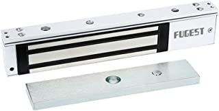 FUGEST 600lbs Electromagnetic Lock Holding Force for Access Control Single Door 12V