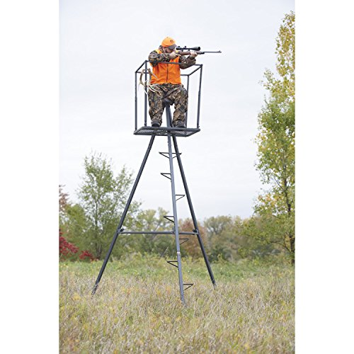 Great Price! Guide Gear 13' Deluxe Tripod Deer Stand