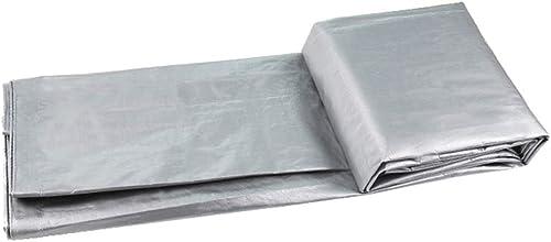 KYSZD-Baches Polyéthylène Feuille de bache Imperméable Résistant au Froid 180g Heavy Duty Plastique de Prougeection Contre Le Soleil de Rideau en Pluie de Tissu de Jardin de Camping avec des Oeillets