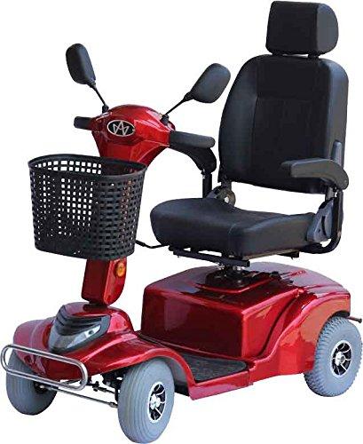"""Alpenmobil \"""" Mobi City 80\"""" rot - altersgerechtes Behindertenfahrzeug / Invalidenfahrzeug für Senioren oder Personen mit Gehbehinderung"""