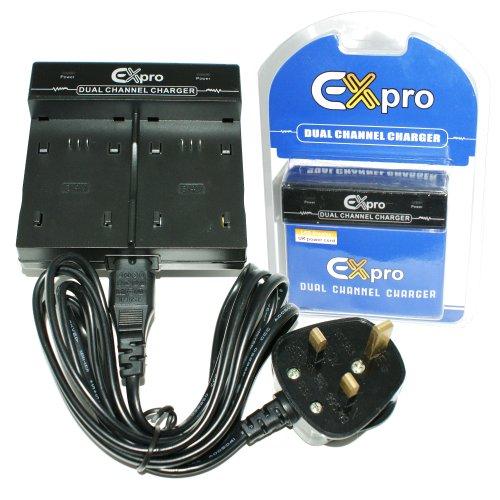 Ex-Pro® Digital kamera Twin Schnell-Doppelladegerät für BYD Batterien DS-5370, DS5370