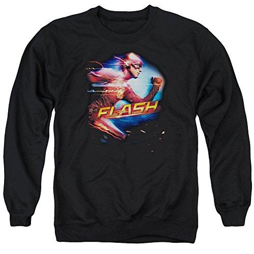 Flash - homme le plus rapide Sweater, Large, Black