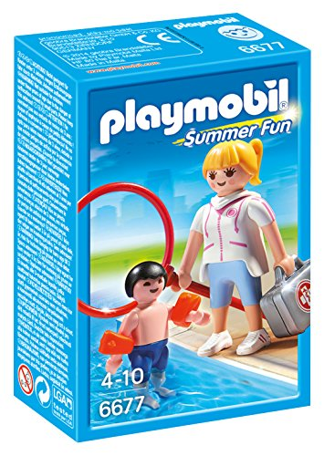 PLAYMOBIL- Summer Fun Vigilante Playsets de Figuras de Juguete, Multicolor (6677)