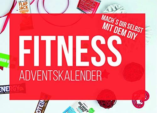 DIY Sport & Fitness Adventskalender 2020 - Inhalt zum befüllen für Fitness Kalender Ideen mit Riegel Proteinriegeln, Proben, BCAA, Whey 24x Ideen für Männer Frauen als Geschenk