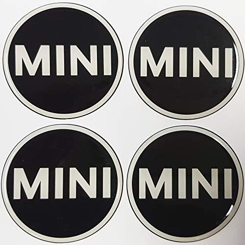Embleme Rund 4 x 56 mm aus Silicon (Art.MINI56), SCHNELL VERSAND AUS DEUTSCHLAND