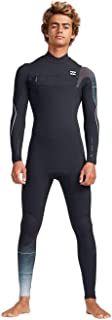 Billabong Mens 3/2mm Furnace Carbon Comp Chest Zip Wetsuit Black Fade - Thermal Warm Heat Layer Layers Furnace Lining