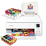 Cake Printer Bundle, Comes with Printer, 5 Cake Ink Cartridges,& 6 Frosting Sheets, Best Cake Image