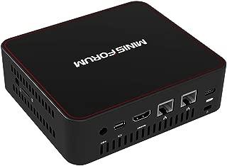 U500-H Mini PC Ultra Small Mini Desktop Computer Intel Core i3-5005U Processor(3M Cache, 2 GHz) 8GB/SSD 128GB HD Graphics 5500 with Cooling System/Dual HDMI/4K/Dual WiFi/BT4.2/2x USB 3.0/Windows 10