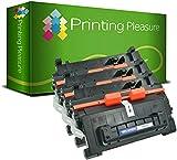 Printing Pleasure 3 Toner Compatibili per HP LaserJet Enterprise M604 M605 M606 dn n x | MFP M630 dn f h z | CF281A 81A, Colore: Nero, 10500 Pagine