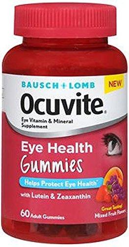 Bausch + Lomb Ocuvite Eye Health Gummies - 60 ct, Pack of 3