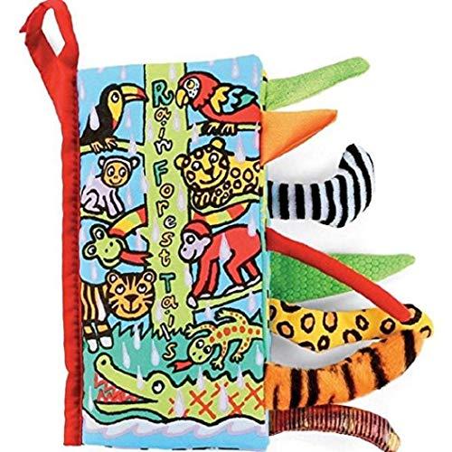 Pichidr-JP 布えほん 赤ちゃん 布絵本 動物 魚 幼児 布のおもちゃ 指遊び 幼児教育 英語 おもちゃ 洗える プレゼント 出産祝い