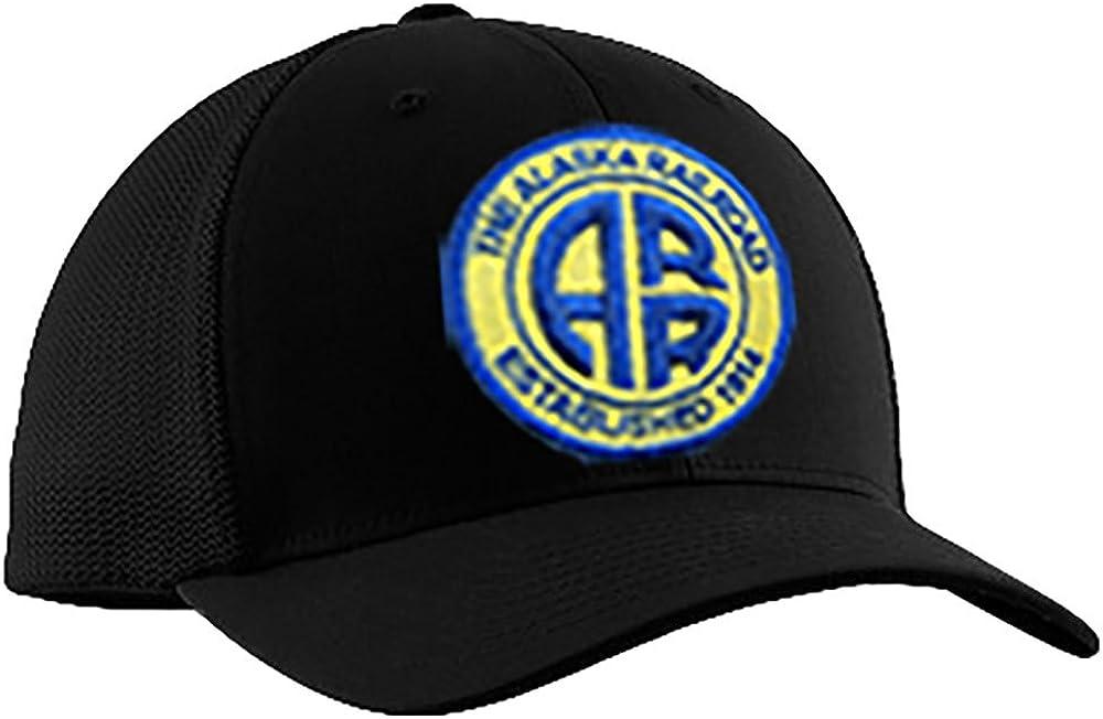 Daylight Sales 35% OFF Alaska Railroad hat26 Embroidered Black Hat Dallas Mall
