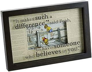 HMK Hallmark Believes in You Framed Print Winnie The Pooh