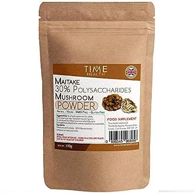 Maitake mushroom extract 100g powder - 30% Polysaccharides from Time Health Ltd