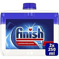 Finish Limpiamáquinas Líquido para lavavajillas - 2 unidades