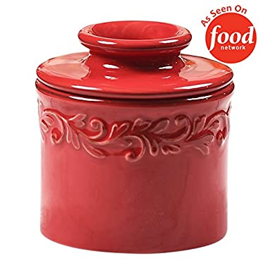 The Original Butter Bell Crock by L. Tremain, Antique Collection - Rouge Red