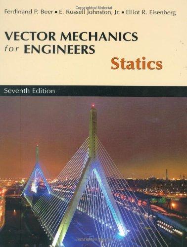 Vector Mechanics for Engineers, Statics