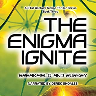 The Enigma Ignite audiobook cover art