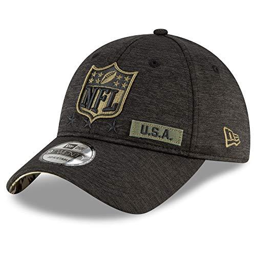 New Era NFL Logo - 9twenty Cap - Salute to Service 2020 - Black - One-Size