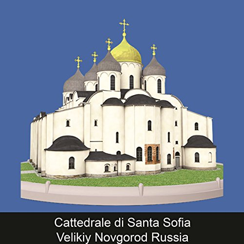 Cattedrale di Santa Sofia Velikiy Novgorod Russia copertina