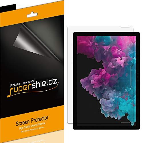 (3 Pack) Supershieldz Designed for Microsoft Surface Pro 7 Plus, Surface Pro 7, Surface Pro 6, Surface Pro 5 and Surface Pro 4 Screen Protector, Anti Glare and Anti Fingerprint (Matte) Shield