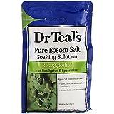 Dr. Teal's Epsom Salt Soaking Solution With Eucalyptus Spearmint, 48...